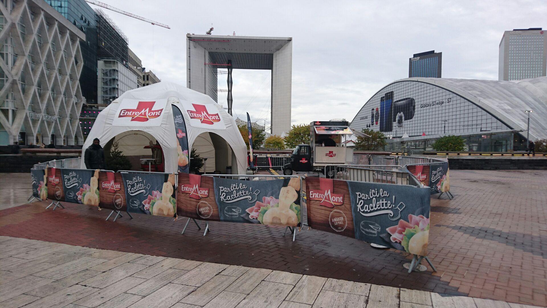 Dégustation de Raclette Entremont et Baume à Lèvre gratuits