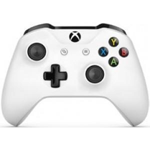 Manette Sans-fil Microsoft pour Xbox One - Blanc (Via 17,97 € sur la carte de fidélité)
