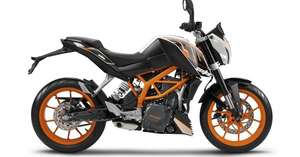 Sélection de motos en promotion - Ex : KTM Duke 390 2015 (A2 ou Normal)