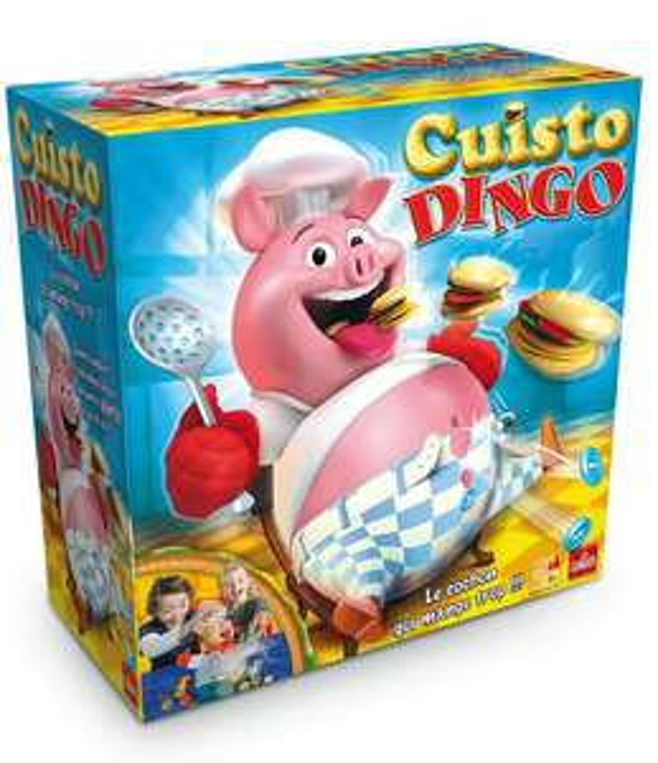 Lot de jeux de société - Cuisto Dingo + Mon Premier Atlas + Je découvre la ferme (Via ODR + Fidélité + bon d'achat)