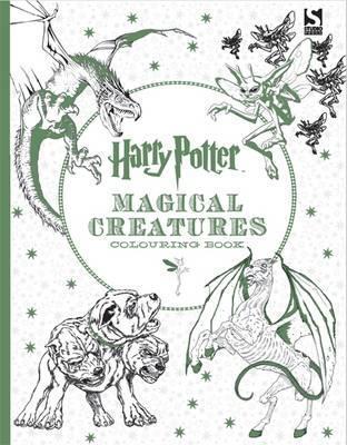 Livre de coloriage Harry Potter Magical Creatures