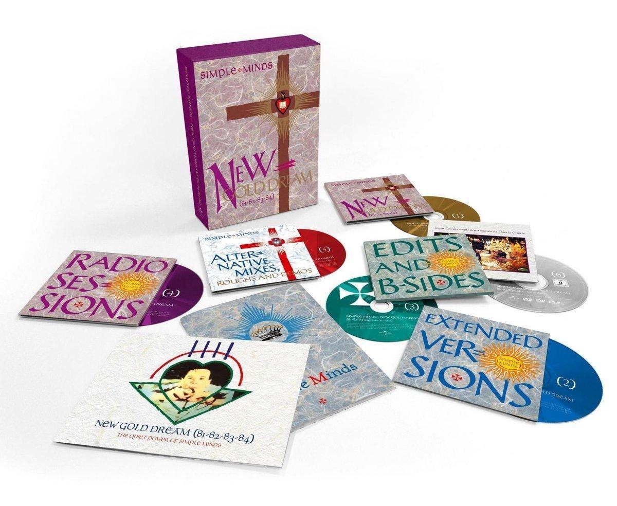 Coffret CD / DVD Simple Minds - New Gold Dream - Édition Super Deluxe