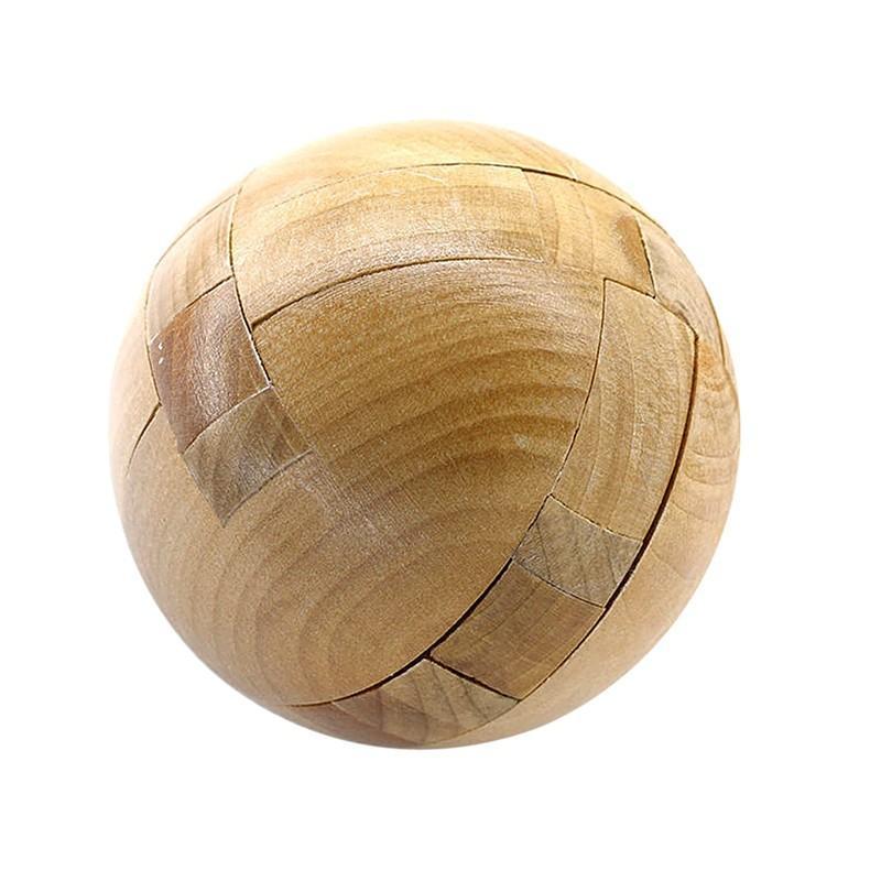 Casse-Tête en bois ø 6,3cm