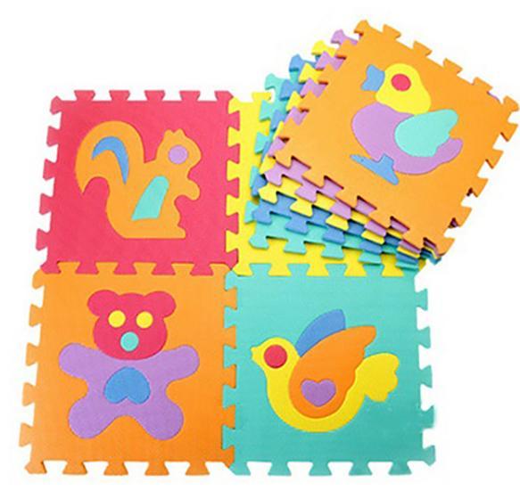 Tapis en dalles / jeu éducatif pour enfant - plusieurs motifs