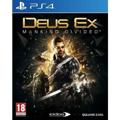 Sélection de jeux PS4 en Promotion - Ex : Deus Ex : Manking Divided - Édition Day One