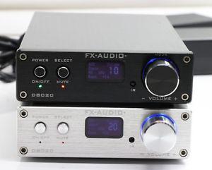 Ampli audio numérique FDA FX-Audio D802C avec Adaptateur (Coloris au choix) - Bluetooth