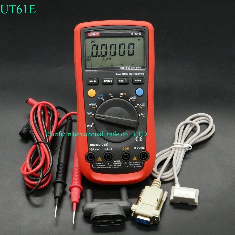 Multimetre Uni-T UT61E - Noir / Rouge