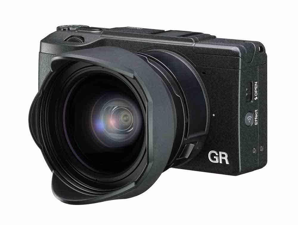 Appareil photo numérique compact Ricoh GR II Noir - Wi-Fi / NFC , HDMI, APS-C 16,2 Mpx