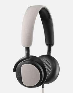 Casque Hi-Fi Supra-auriculaire Bang & Olufsen BeoPlay H2 avec Microphone - Beige / Noir