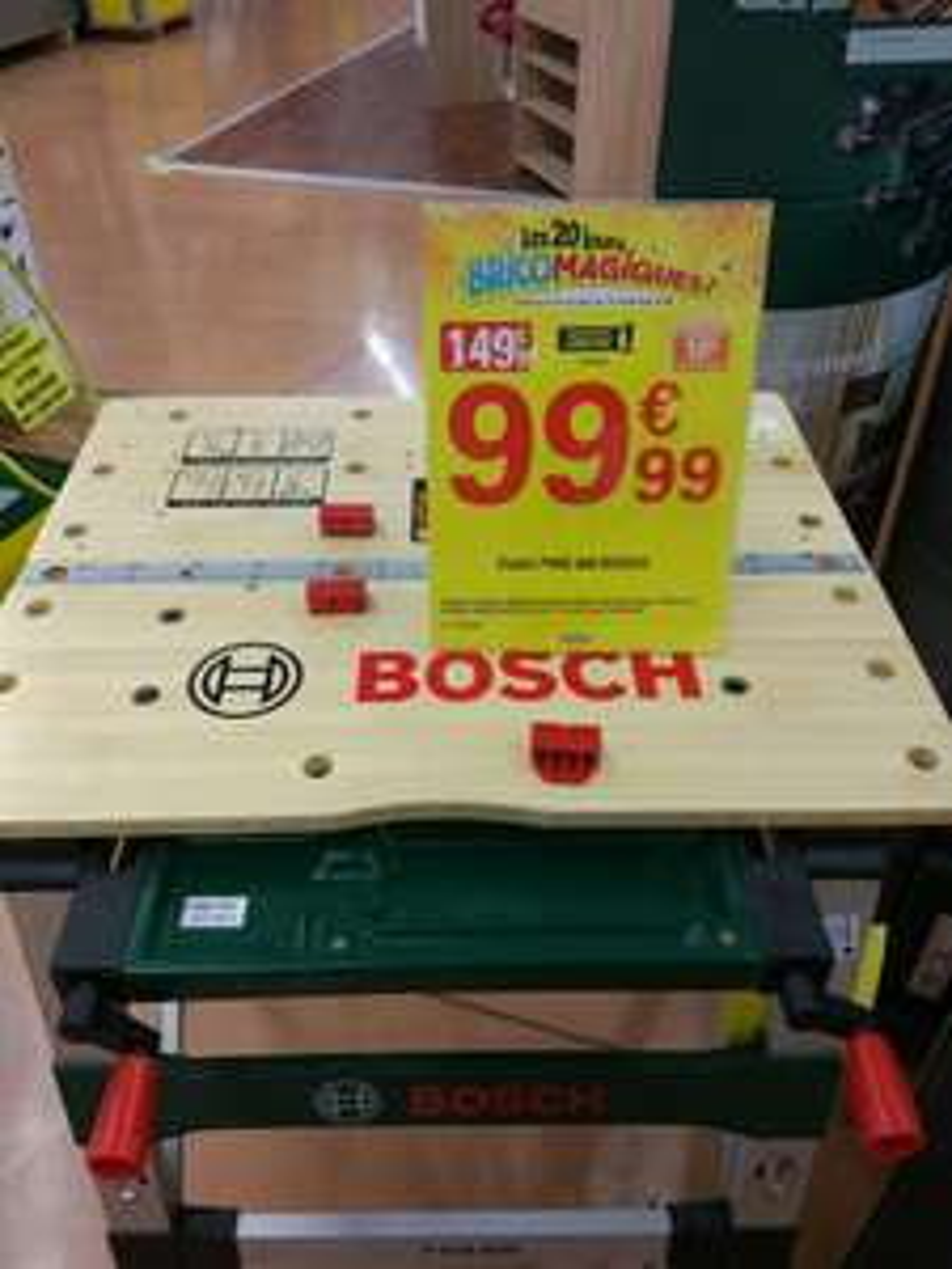 Établi de travail Bosch PWB 600