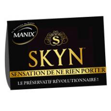 Préservatif manix Skin à 0,34€ l'unité soit 50 Préservatifs Manix Skyn