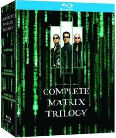 Sélection de coffrets Blu-ray en promotion - Ex :Coffret Blu-ray The Matrix Trilogy