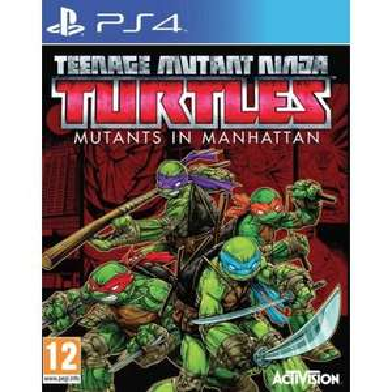 Teenage Mutant Ninja Turtles : Des Mutants à Manhattan sur PS4