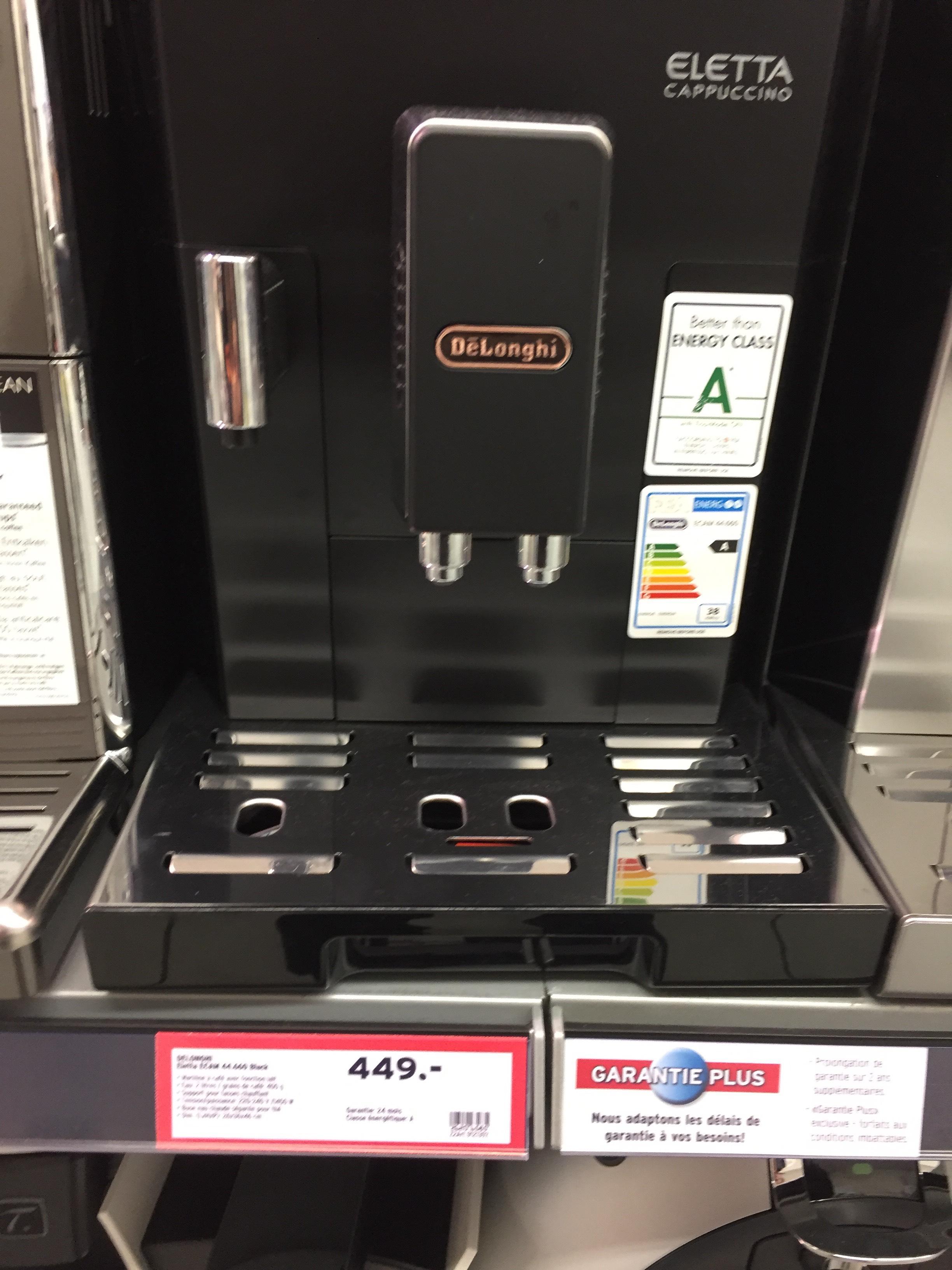 machine à café espresso Delonghi Eletta Ecam 44.660 - Noir