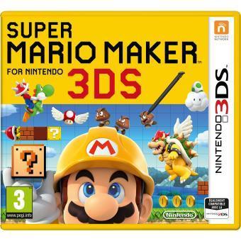 [Adhérents] Précommande : Super Mario Maker 3DS + 10€ sur le compte fidélité