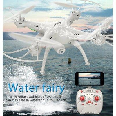 Drone étanche RC Quadcopter LiDiRC L15FW - WiFi FPV 0,3 M caméra 2.4GHz 4 canaux 6 axes Gyro