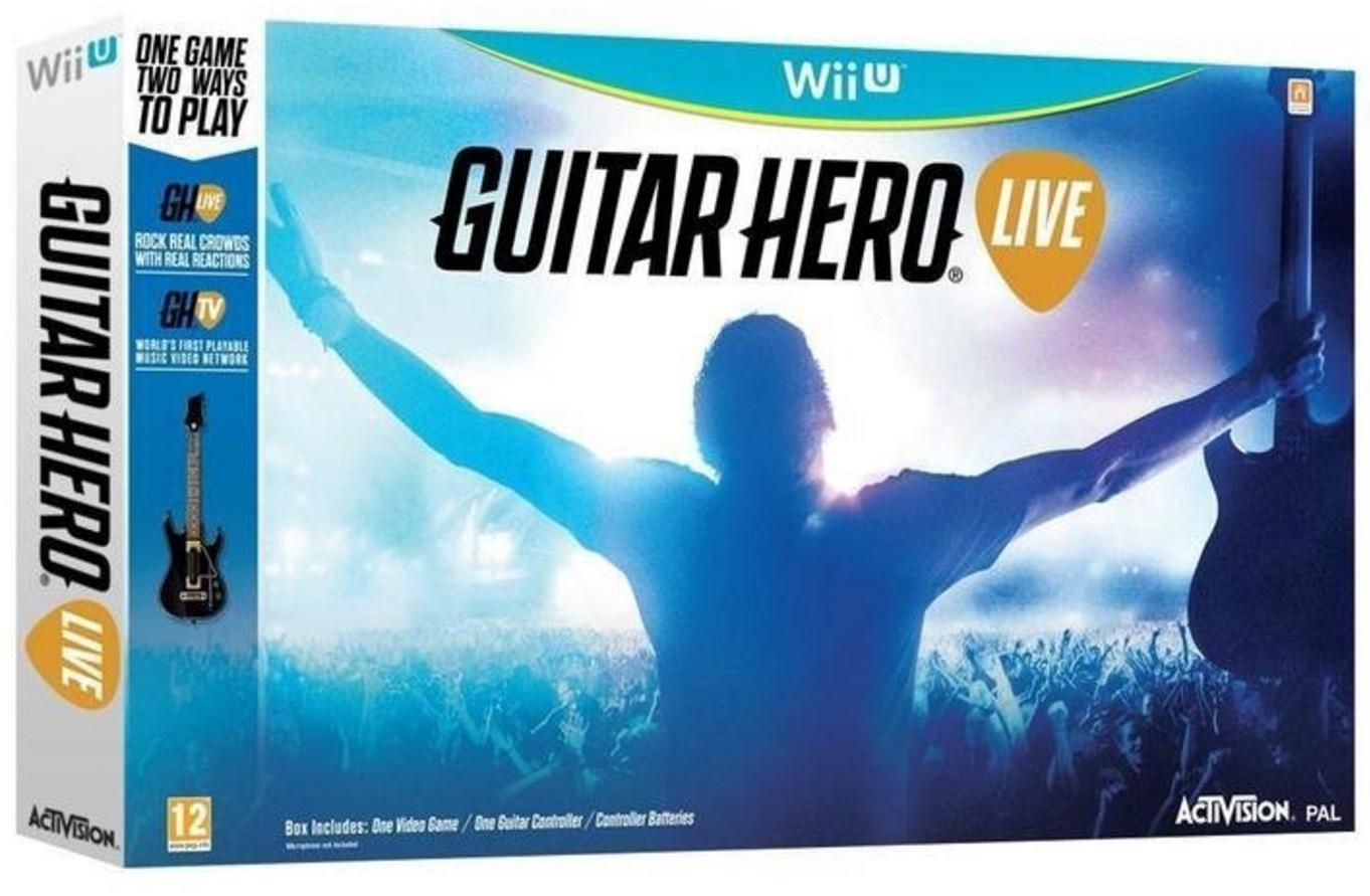 [Membres Premium] Jeu Guitar Hero Live + Guitare sur Wii U
