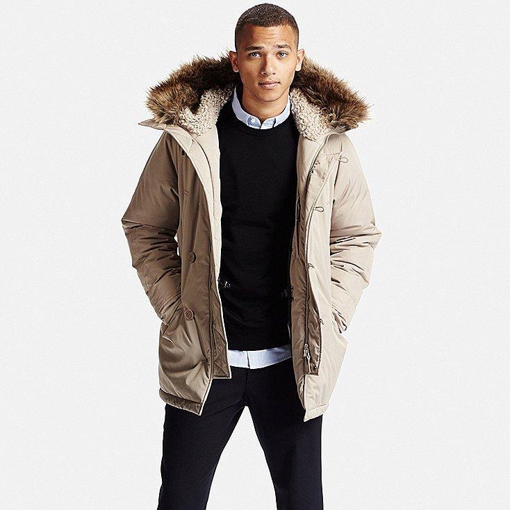 Sélection d'articles en promotion - Ex : Manteau ultra warm homme