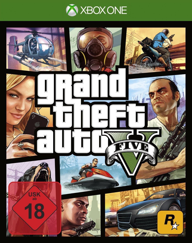 Jeu GTA 5 sur Xbox One/PS4