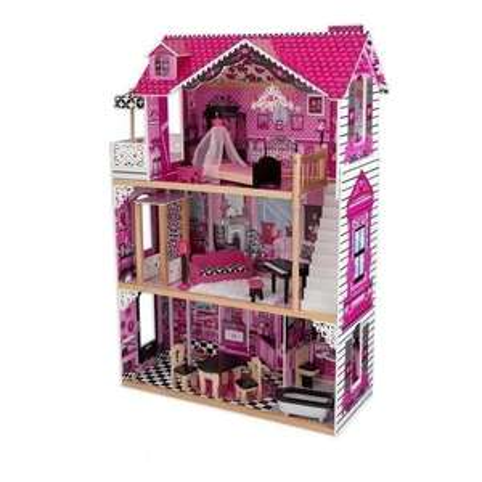 [Cdiscount à volonté] Maison de poupées Kidkraft en bois Amélia + 14 pièces