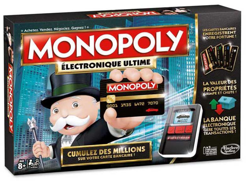 Jeu Monopoly Electronique Ultime (via 5€ en bon d'achat)