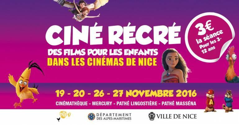 Place de cinéma enfant et accompagnant pour une sélection de films