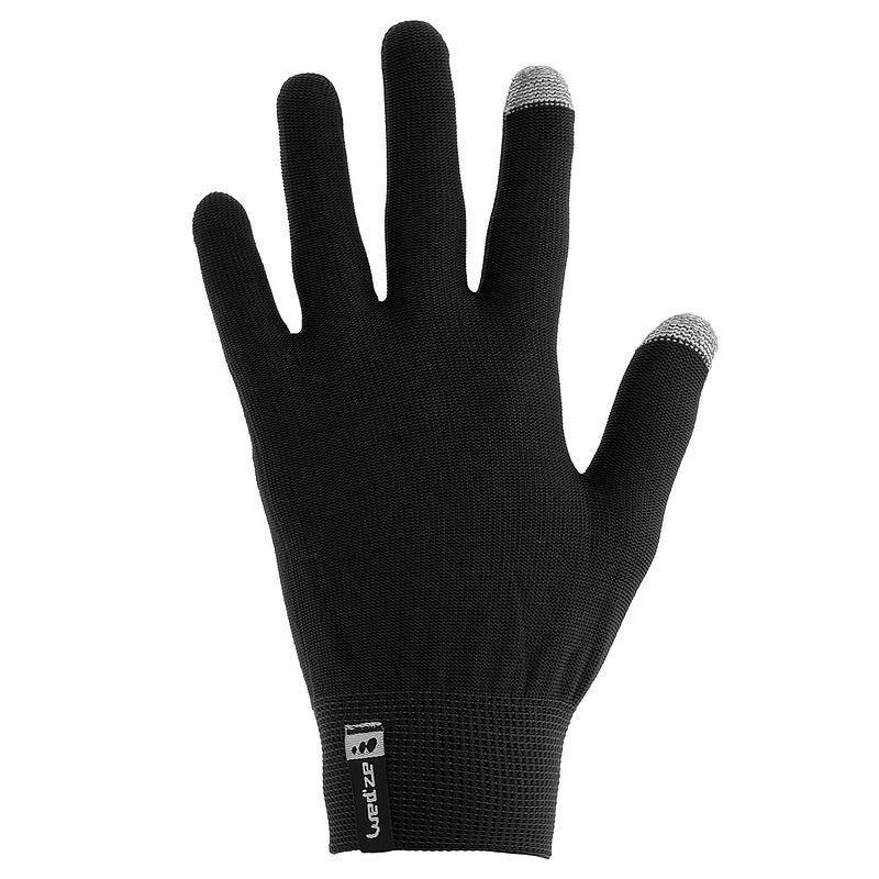 Paire de sous-gants de ski enfants Wed'ze - Compatibles écrans tactiles