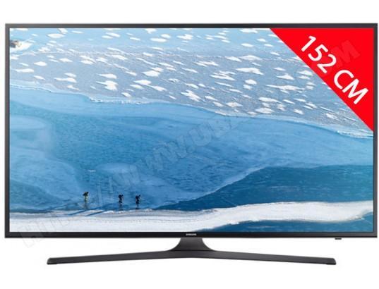 "TV 60"" Samsung UE60KU6000 - 4K UHD, HDR 1300 PQI, Smart TV (via ODR de 183.80€)"