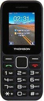 """Téléphone portable 1.77"""" Thomson Tlink11 - double-SIM, Bluetooth, Noir"""