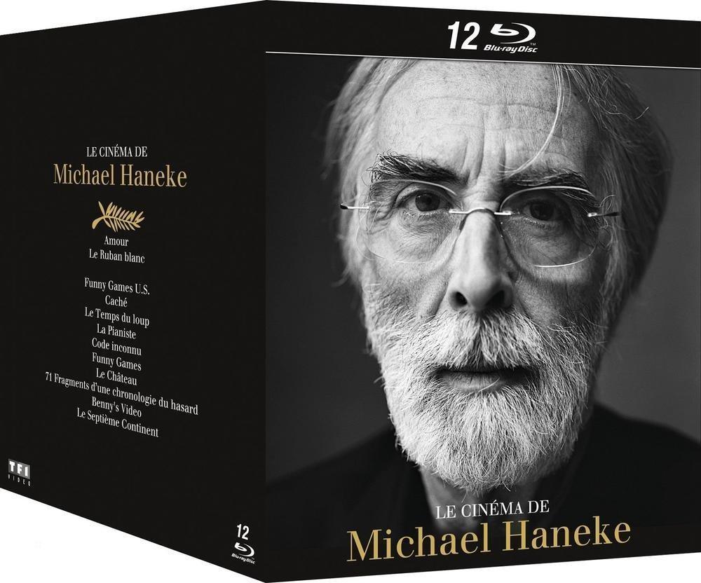 Coffret Blu-ray Le Cinéma de Michael Haneke (12 disques)