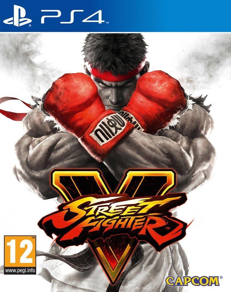 Jeu Street Fighter V sur PS4