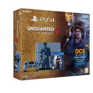 Console Sony PS4 1 To Edition Limitée + Uncharted 4 : A Thief's End