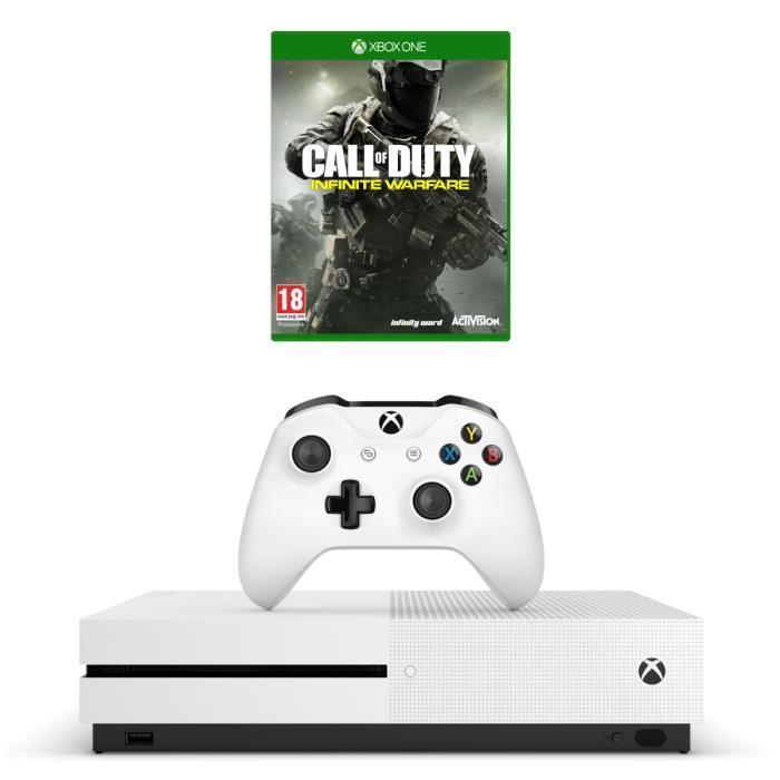 [Cdiscount à Volonté] Console Microsoft Xbox One S 500 Go + Call of Duty Infinite Warfare