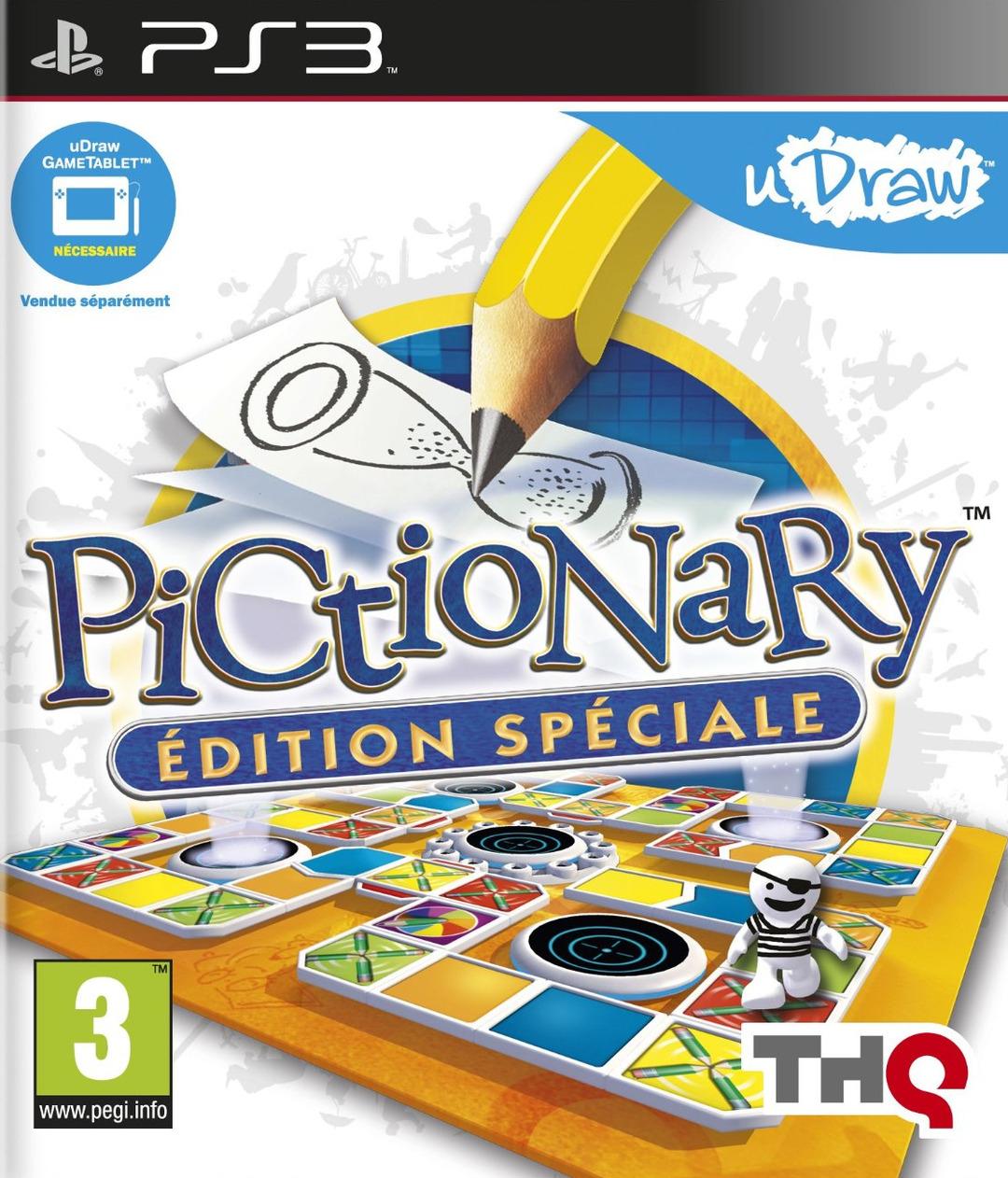 Jeu Pictionnary UDRaw sur PS3 ou Xbox 360