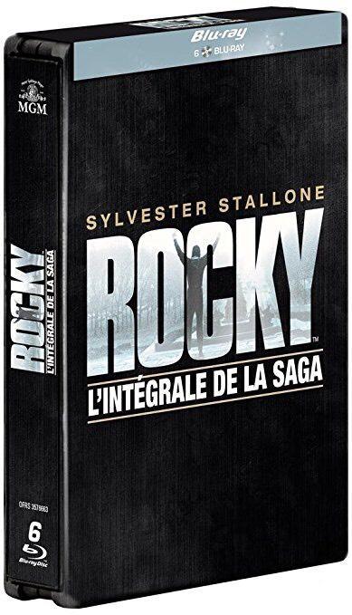 Sélection de coffrets Blu-ray en promotion - Ex : coffret Rocky (6 films)