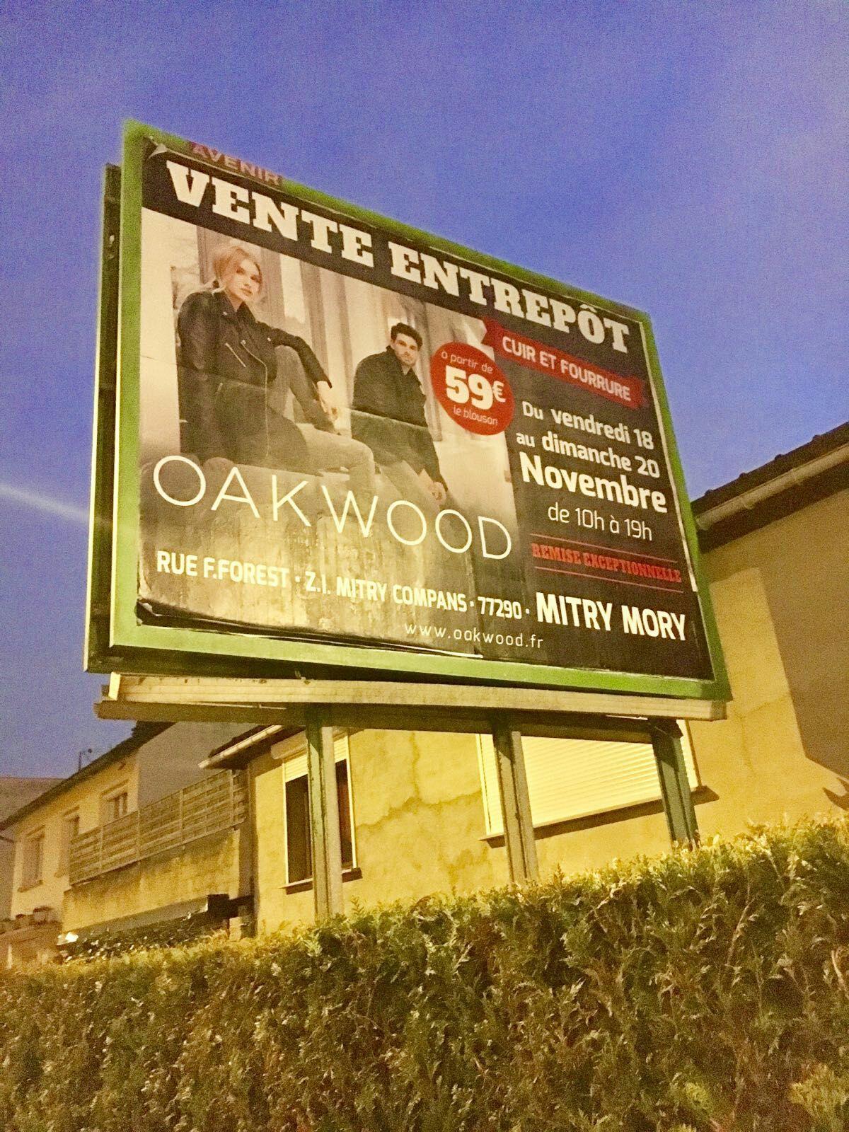 Sélection d'articles Oakwood en promotion - Ex : Blouson