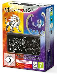 Console Nintendo New 3DS XL - Edition collector Pokemon soleil / lune
