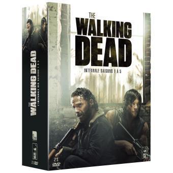 Coffret DVD The Walking Dead - L'intégrale des saisons 1 à 5