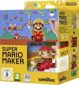 Super Mario Maker + amiibo Mario Classic Color sur Wii U (via 24.95€ en ticket E.Leclerc)