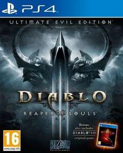Diablo III : Reaper of souls - ultimate evil édition sur PS4