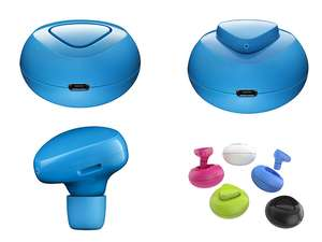 Oreillette Bluetooth Nokia LUNA Blanc, Vert, bleu ou rose