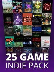 Bundle de 25 jeux vidéo indépendants sur PC (dématérialisés)