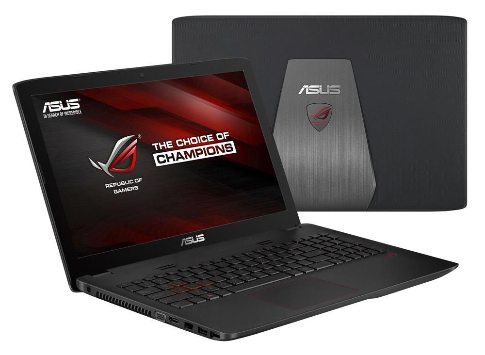"PC portable 15.6"" full HD Asus ROG G552VX-DM358T (i5-6300HQ, GTX 950M, 8 Go de RAM, 1 To + 128 Go en SSD)"