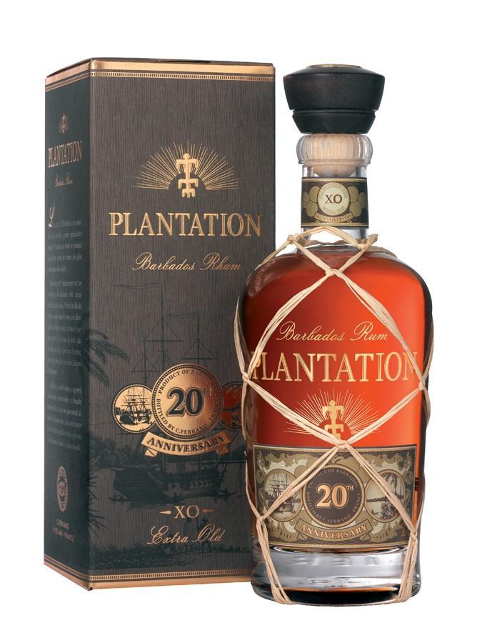 Bouteille de rhum Plantation XO Anniversary (20 ans) - 70 cl