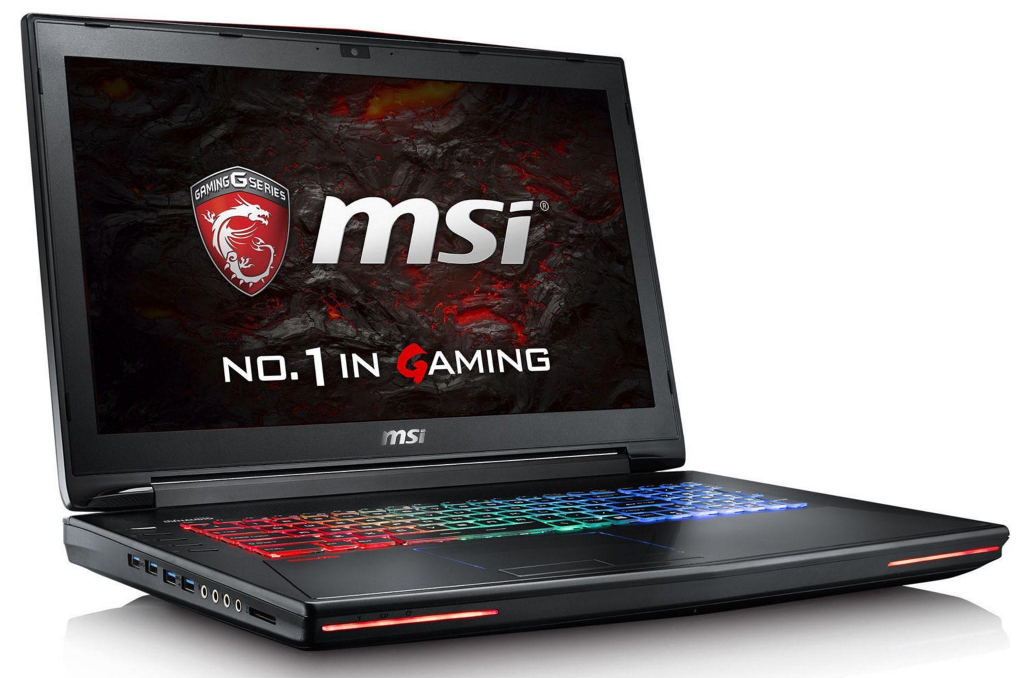 "PC Portable 17.3"" MSI Dominator Pro GT72VR 6RE-273XFR (i7-6700HQ, 8 Go de Ram, GTX 1070, 1To + 256 Go en SSD) - reconditionné"