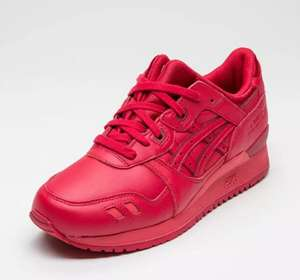 Chaussures Asics Gel-Lyte III Monochrome Rouge