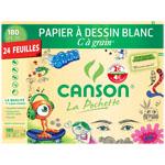Lot de 3 Pochettes papier Canson (3 x 24 feuilles avec ODR 4 € + 30 % Compte Fidelité)