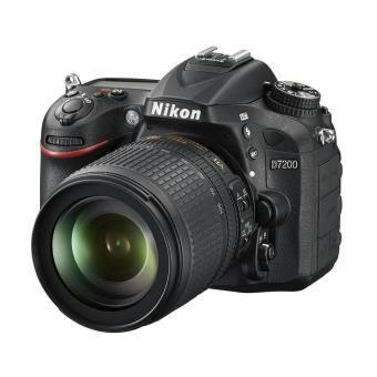 Appareil photo Reflex Nikon D7200 - 24,72 Mpix + Objectif AF-S 18-105 mm - f/3.5-5.6G VR (via ODR 100€)