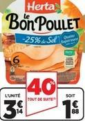 Herta Le Bon Poulet (Via BDR)