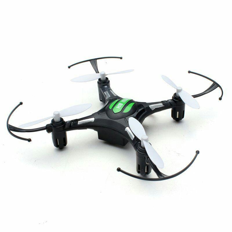 Mini-drone quadricoptère Eachine H8C - Noir